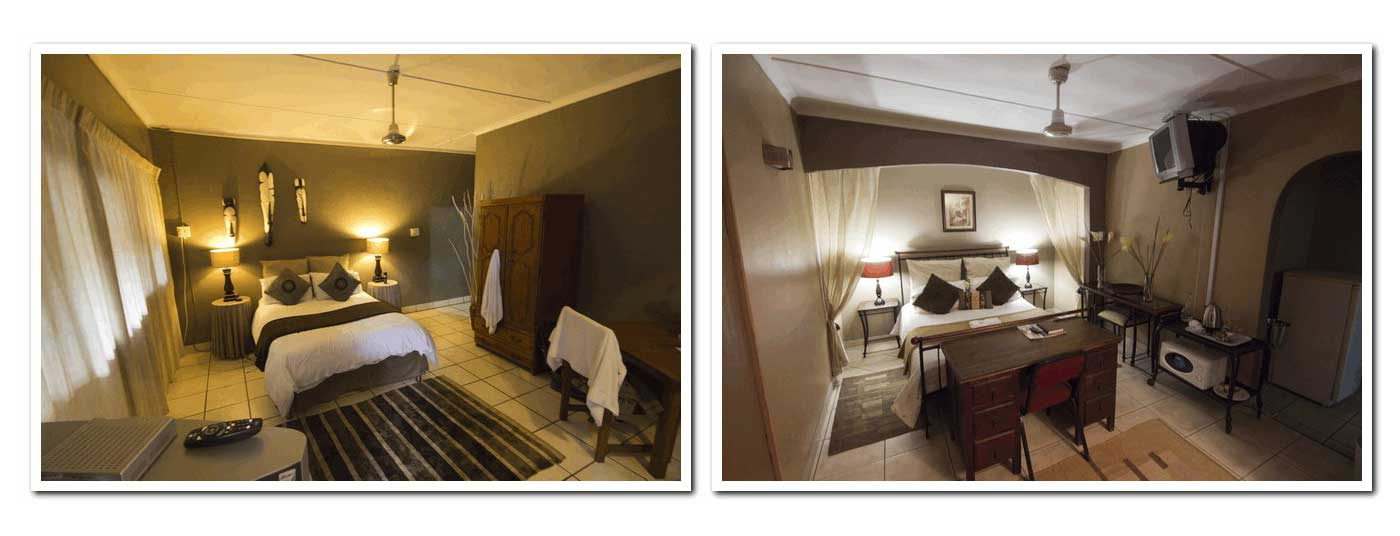 Special rate: Double R620 per night